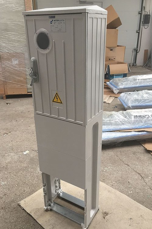 Electricity meter plastic, pillar In-25A