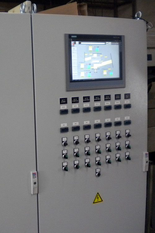 Technological switchboard RITTAL, control system SIMATIC