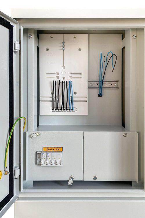 elektromerový rozvádzač RE P pilier - vnútro